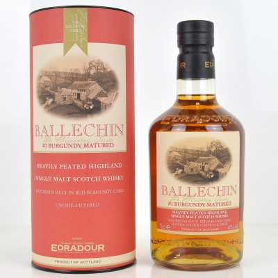 Edradour Ballechin #1 Burgundy Matured