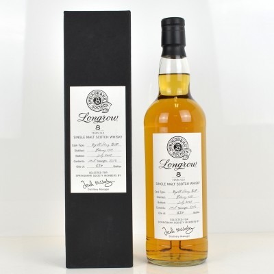 Longrow 1997 8 Year Old Springbank Society