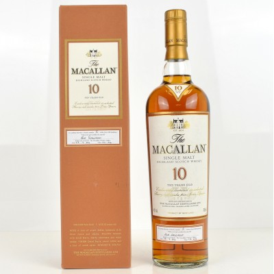 Macallan 10 Year Old - The First 100 Bottles