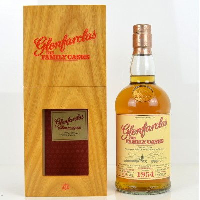 Glenfarclas Family Cask 1954 Summer 2014 Bottling