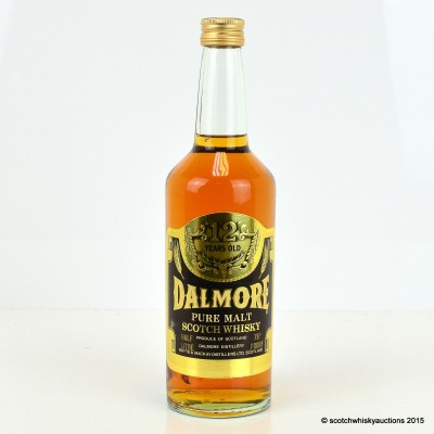 Dalmore 12 Year Old Old Style 75° Proof 0.5L