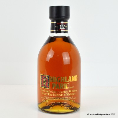 Highland Park 12 Year Old 75cl