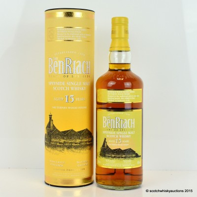 BenRiach Sauternes Wood Finish 15 Year Old