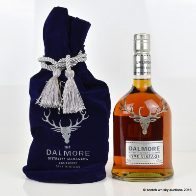 Dalmore Distillery Manager's Exclusive 1995 Vintage