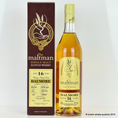 Dalmore 1996 16 Year Old The Maltman