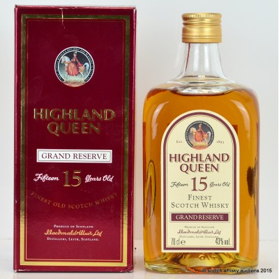 Highland Queen Grand 15 Year Old