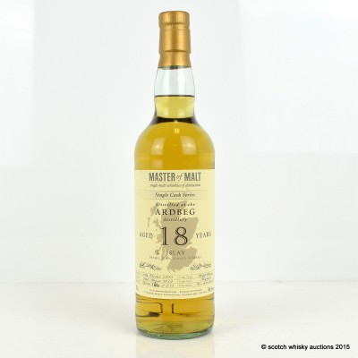 Ardbeg 1993 18 Year Old Master Of Malt