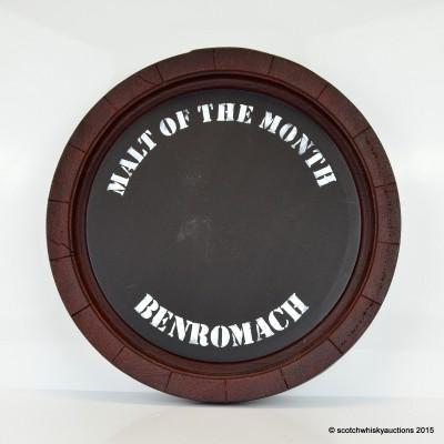 Benromach Malt Of The Month Chalk Board