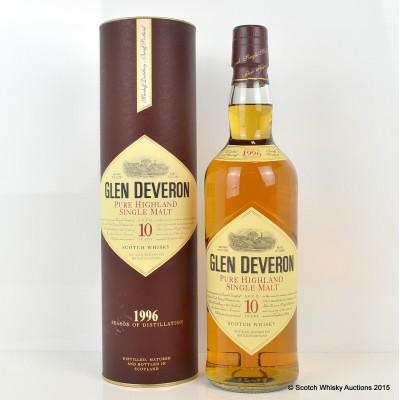Glen Deveron 1996 10 Year Old