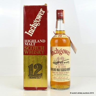 Inchgower 12 Year Old Old Style 75cl