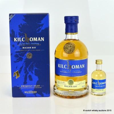Kilchoman Machir Bay & Kilchoman New Spirit Mini 5cl