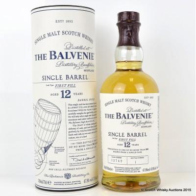 Balvenie Single Barrel 12 Year Old