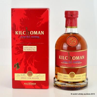 Kilchoman Oloroso Sherry Cask For The Distillery Shop