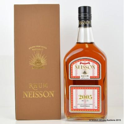 Neisson 2005 Joint Bottling Velier Rhum