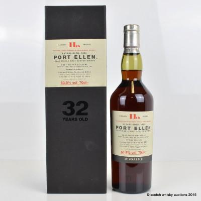 Port Ellen 11th Release 32 Year Old