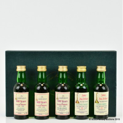 James MacArthur Minis x 5 Including Speyburn 1979
