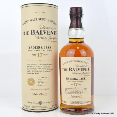 Balvenie Madeira Cask 17 Year Old