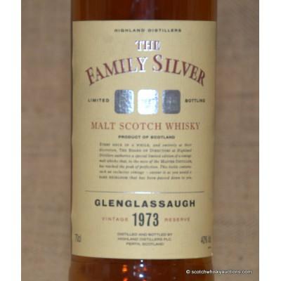 Glenglassaugh 1973 The Family Silver