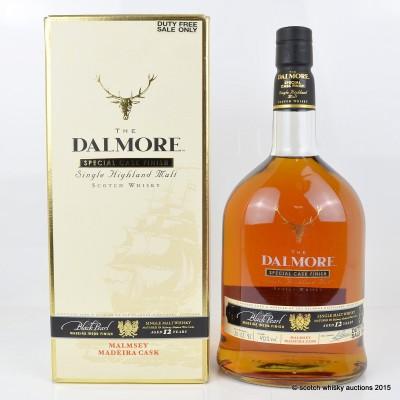 Dalmore Black Pearl Malmsey Maderia Cask 12 Year Old 1L