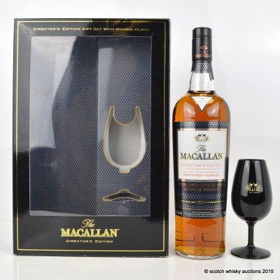 Macallan Director's Edition Gift Set With Tasting Glass US Import