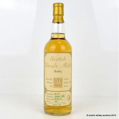 Ardbeg 1974 23 Year Old Scotch Single Malt Circle