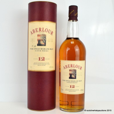 Aberlour 12 Year Old Old Style 1L