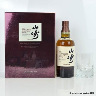 Yamazaki Distiller's Reserve & Tumbler Set