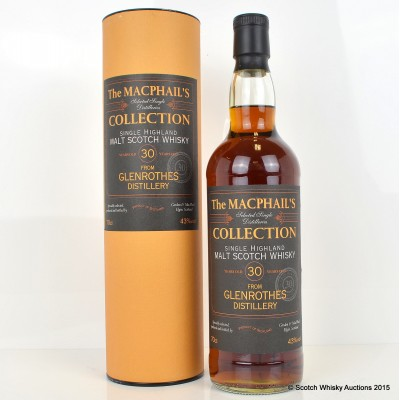 Glenrothes 30 Year Old MacPhail's Collection