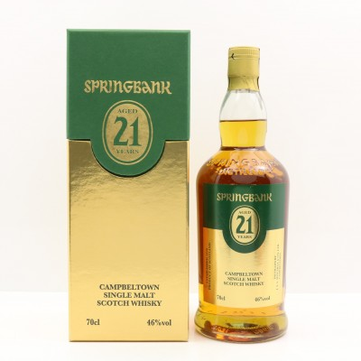 Springbank 21 Year Old Rum Cask