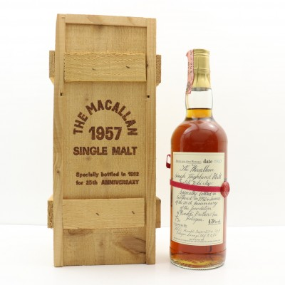 Macallan 1957 Rinaldi 25th Anniversary 75cl