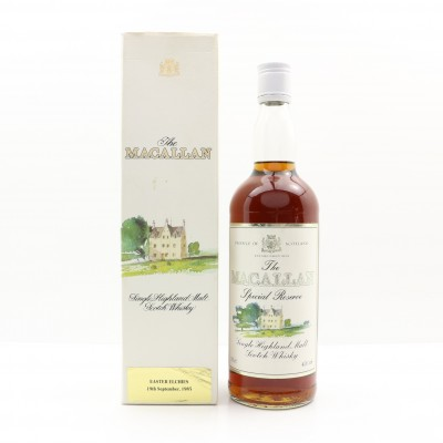 Macallan Special Reserve Easter Elchies 1985 Release 75cl