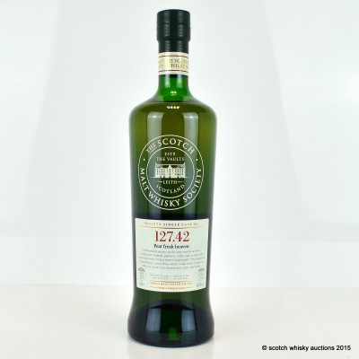 SMWS 127.42 Port Charlotte 2002 12 Year Old