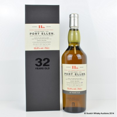 Port Ellen 11th Annual Release 1979 32 Year Old