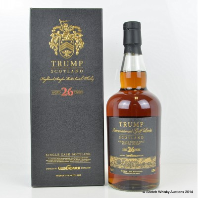 GlenDronach 26 Year Old Trump International Golf Links