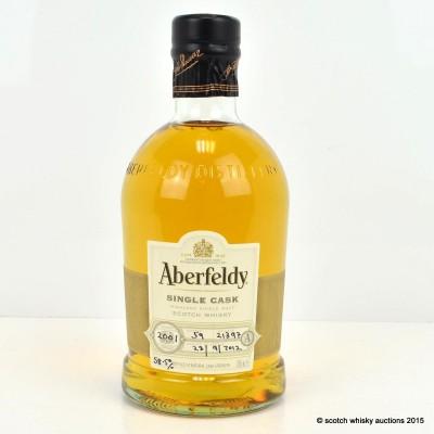Aberfeldy 2001 Single Cask #21397