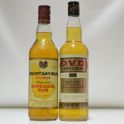 OVD Spiced & Mount Gay Rum
