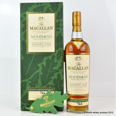 Macallan Woodland Estate Limited Edition 12 Year Old