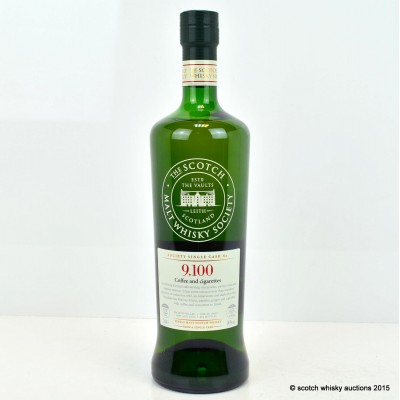 SMWS 9.100 Glen Grant 2002 12 Year Old