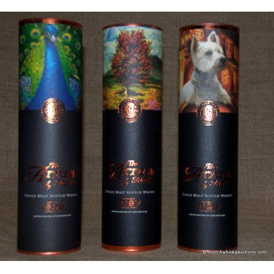 Arran Icons - The Peacock, The Rowan Tree & The Westie