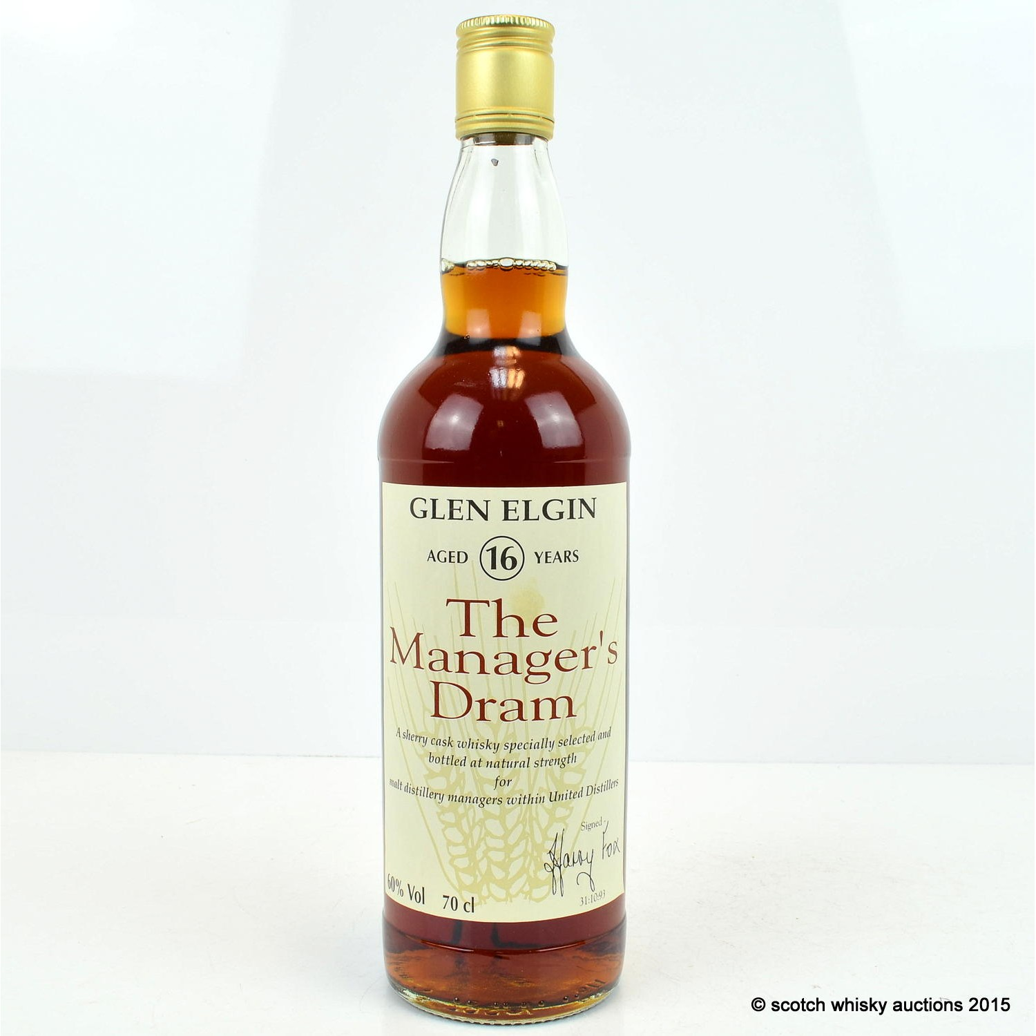 Scotch Whisky Auctions The 50th Auction Manager 39 S Dram