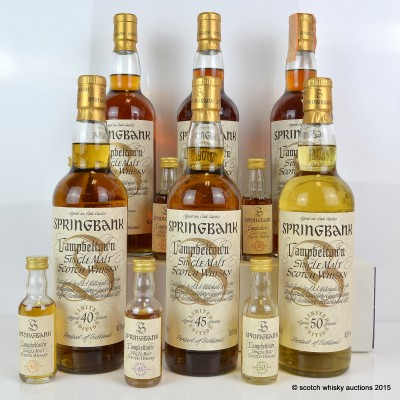 NEPAL DISASTER RELIEF Springbank Millennium Collection Including Minis