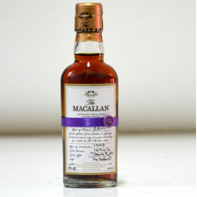 Macallan Easter Elchies 2011 Mini