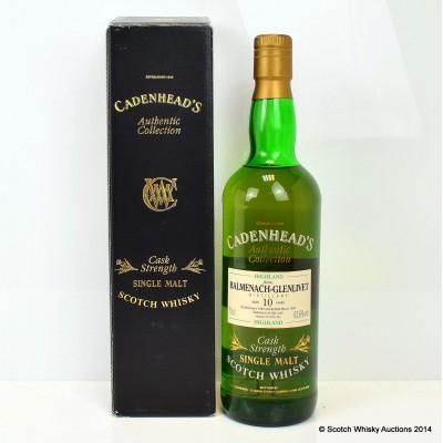 Cadenhead's Balvenie-Glenlivet 1981 10 Year Old