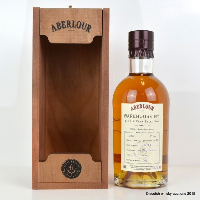 Aberlour Warehouse No 1 Single Bourbon Cask Selection 1992 14 Year Old