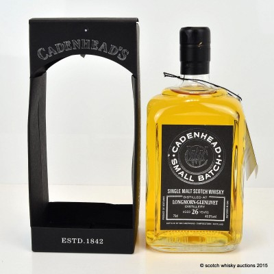 Cadenhead's Longmorn-Glenlivet 1987 26 Year Old