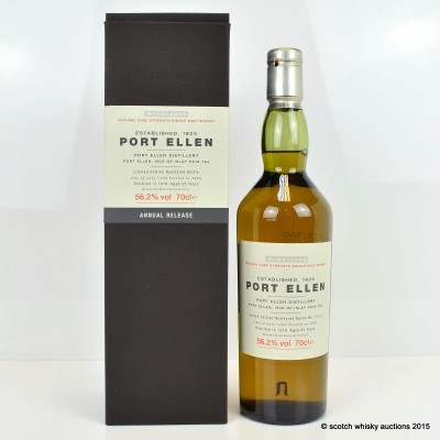 Port Ellen 4th Annual Release 1978 25 Year Old