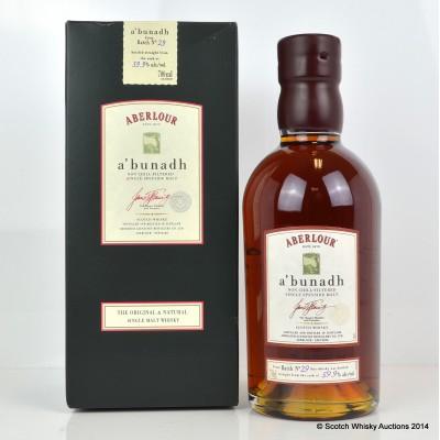 Aberlour A'Bunadh Batch #29