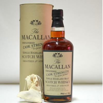 Macallan Cask Strength Unfiltered