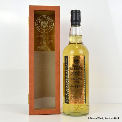 Cadenhead's Highland Park 1990 18 Year Old