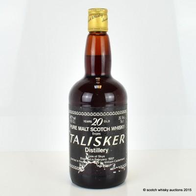 Cadenhead's Talisker 1957 20 Year Old 26 2/3 Fl Oz
